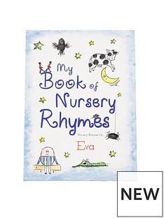 personalised-my-book-of-nursery-softback