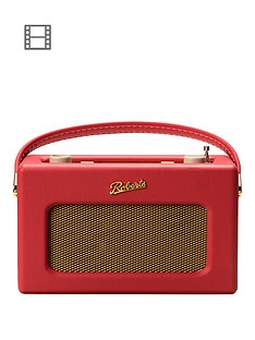 roberts-revivalnbsprd70nbspdigital-radio-with-alarms-and-bluetoothnbspstreaming-red