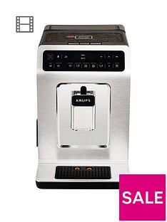 Krups Evidence EA893C40 Automatic Espresso Machine - Chrome