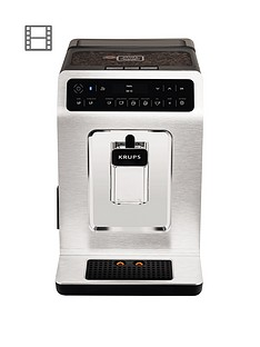 Krups Evidence EA893C40 Automatic Espresso Machine - Chrome