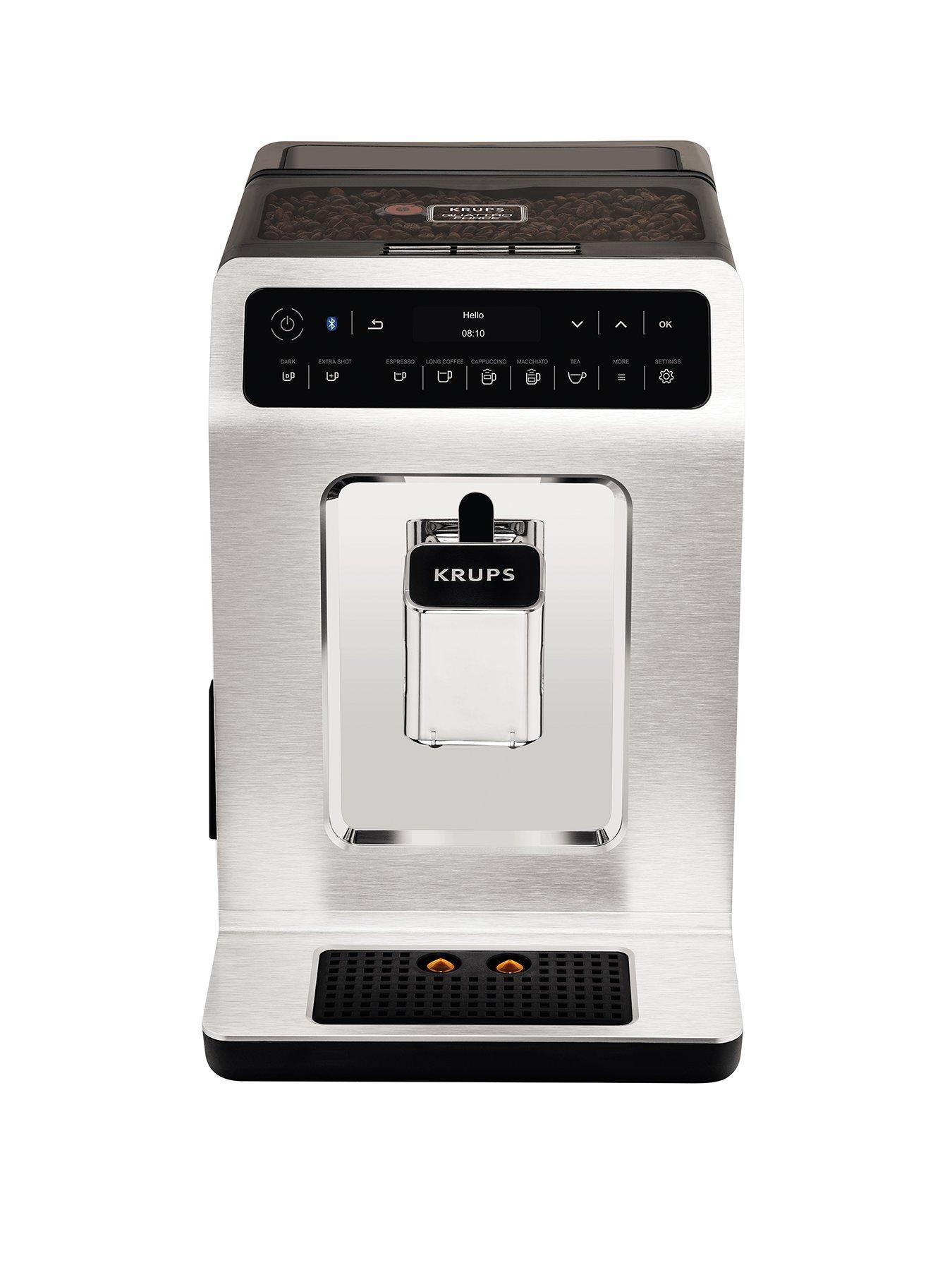 Krups Evidence EA893C40 Automatic Espresso Machine   Chrome