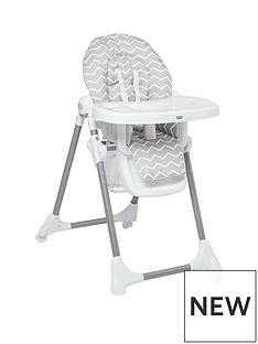 Mamas & Papas Mamas & Papas Snax Highchair - Grey Chevron