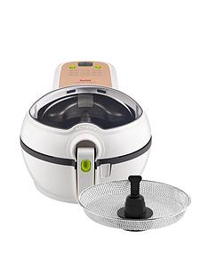 Tefal ActiFry Original Plus with Snacking Tray GH847040 Health Fryer - White