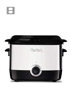 tefal-ff220040-mini-deep-fryer-06kg-capacity-1000wnbsp--stainless-steel