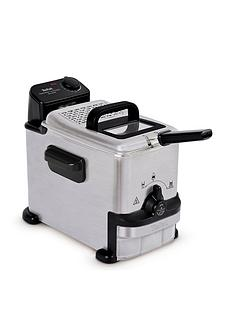 Tefal Oleoclean Compact FR701640 2l Semi-professional Fryer - Stainless Steel