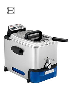 tefal-fr804040-oleoclean-pro-deep-fryer-12kg-capacity-2300w-exclusive-oil-filtration-system-stainless-steel