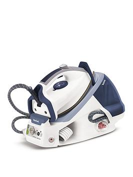 Tefal Gv7466 Pro Express High Pressure Steam Generator Iron - White/Blue