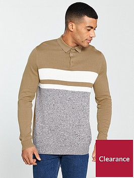 river-island-ls-ashcroft-slim-blocked-polo