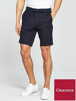 river-island-brando-belted-smart-chino-short