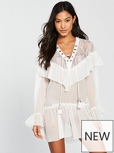 river-island-river-island-ruffle-cover-up-beach-dress--white