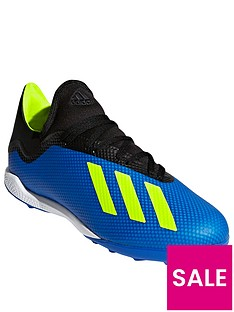 adidas-mens-x-183-astro-turf-football-boot-blueyellownbsp