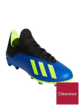 adidas-junior-x-183-firm-ground-football-boots-bluevolt