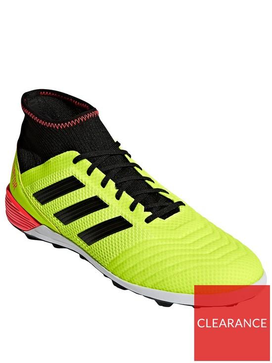 c1d2e6f9000 adidas Mens Predator 18.3 Astro Turf Football Boot - Yellow Black .