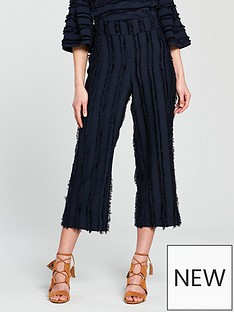 river-island-river-island-fringe-wide-leg-crop-trousers--navy