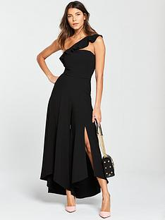 river-island-asymmetric-frill-wide-leg-jumpsuit-black