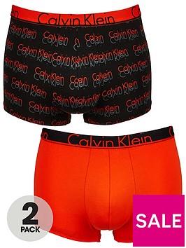 calvin-klein-2pk-print-plain-trunk