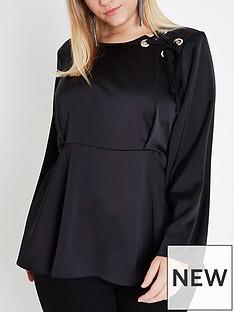 ri-plus-eyelet-blouse--black