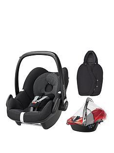 maxi-cosi-pebble-car-seat-group-0-plus-freenbspfootmuff-amp-raincover
