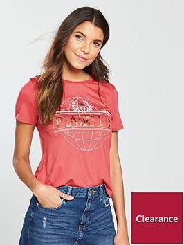river-island-paris-globe-foil-t-shirt--red