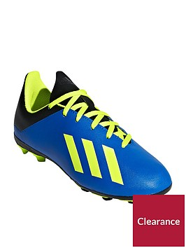 adidas-junior-x-184-firm-ground-football-boots-blueyellow