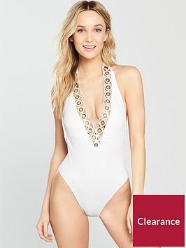 river-island-textured-eyelet-plunge-swimsuit-white
