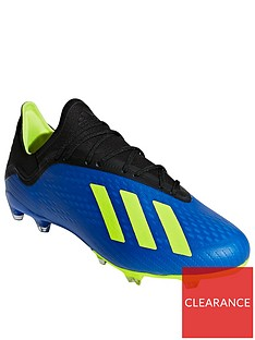 adidas-mens-x-182-firm-ground-football-boot-blueyellownbsp