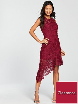 river-island-lace-midi-dress--dark-red