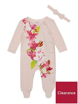 baker-by-ted-baker-baby-girls039-pink-floral-print-sleepsuit