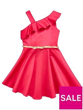 baker-by-ted-baker-girls-pink-asymmetric-ruffle-neck-dress
