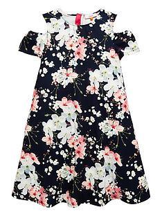 baker-by-ted-baker-girls-blossom-print-cold-shoulder-dress