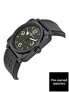 bell-ross-bell-amp-ross-pre-owned-aviation-military-type-khaki-ceramic-mens-watch-ref-br0392-mil-ce