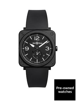 bell-ross-bell-amp-ross-pre-owned-aviation-black-matte-ceramic-mens-watch-ref-brs-bl-cem