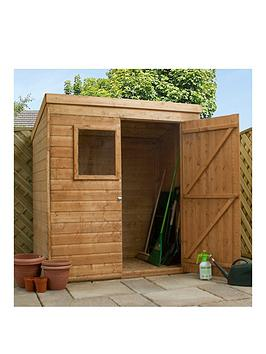 mercia-mercia-6-x-4-ft-premium-shiplap-pent-shed-with-windownbsp