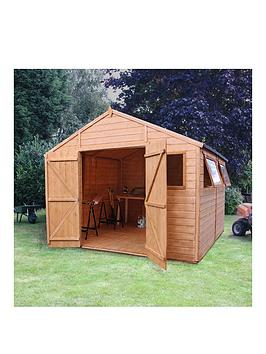 mercia-mercia-10x10ft-premium-tongue-amp-groove-apex-workshop-6-windows-double-door-tampg-roof-and-floor