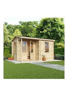 mercia-mercia-4x3m-28mm-tampg-home-office-log-cabin