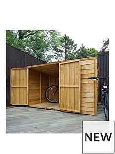 mercia-mercia-6x4ft-overlap-bike-store-pent-roof