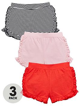 mini-v-by-very-pack-of-3-girls-ruffle-shorts-ndash-stripepinkred