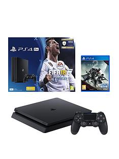 playstation-4-pro-pronbspconsole-with-fifa-18-and-destiny-2nbspplus-optional-extra-dualshock-controller-andor-12-months-playstation-network