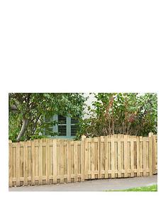 forest-forest-hit-and-miss-fence-panel-dome-top-5-pack