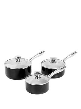 morphy-richards-accents-3-piece-saucepan-set-ndash-black