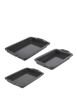 tower-cerastone-3-piece-non-stick-roaster-set-graphite