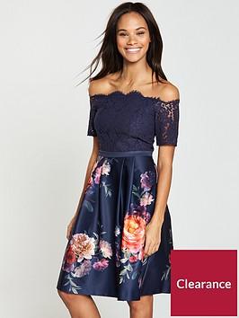 oasis-oasis-romance-floral-bardot-lace-top-skater-dress