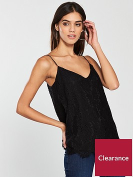 v-by-very-lace-cami-black