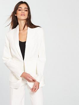 v-by-very-satin-trim-tux-jacket-ivory