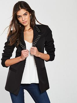 v-by-very-studded-blazer-black