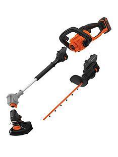 black-decker-3-in-1-seasonmaster-starter-kit-hedge-trimmer-pole-hedge-and-strimmer