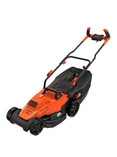 black-decker-1600-wattnbsp38cm-lawnmower-with-bike-handle-controls