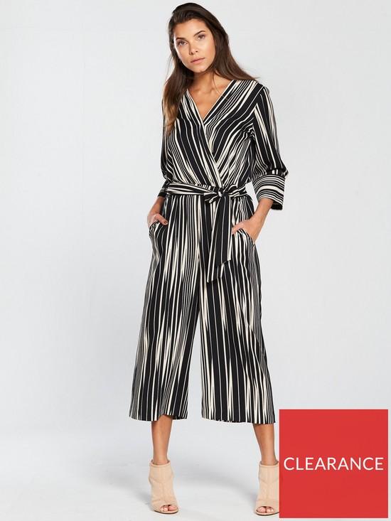 523d2efdf5 Wallis Stripe Culotte Jumpsuit