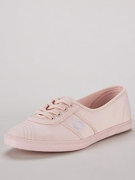 fred-perry-aubrey-poly-lace-up-trainer-pumps-pink