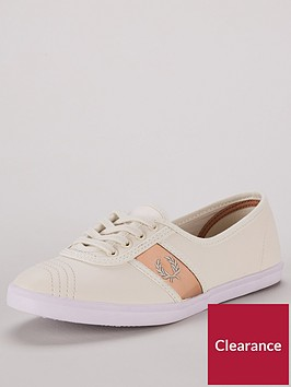 fred-perry-aubrey-leather-pumps-rose-gold